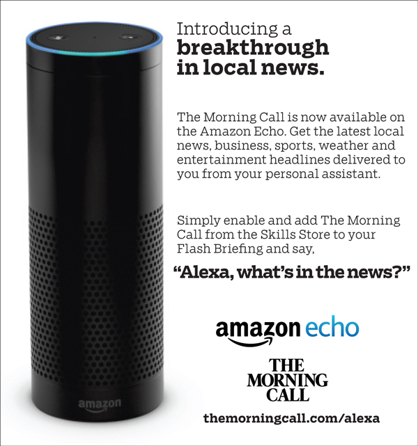 Introducing The Morning Call on the Amazon Echo
